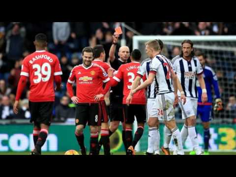 Louis van Gaal slams Juan Mata for 'stupid' red card in Man United's defeat to West Brom