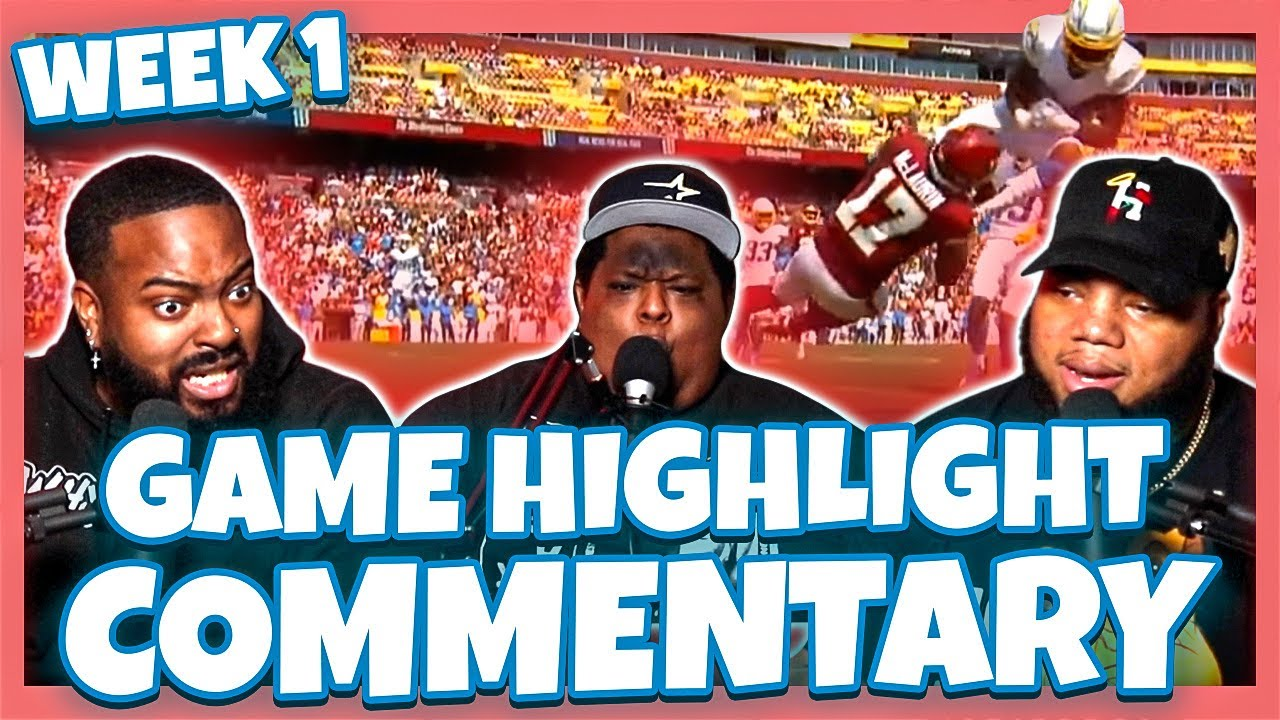 Download 2021 NFL Week 1 Game Highlight Commentary   Sunday Afternoon Games Chiseled Adonis Try Not To Laugh