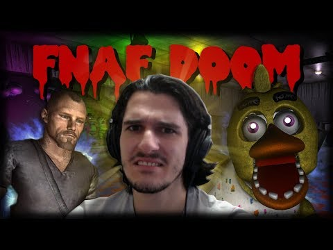 LEVANDO OS PIORES SUSTOS DO FIVE NIGHTS MULTIPLAYER!! - Five Nights at Freddy's Doom Mod thumbnail