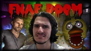 LEVANDO OS PIORES SUSTOS DO FIVE NIGHTS MULTIPLAYER!! - Five Nights at Freddy's Doom Mod