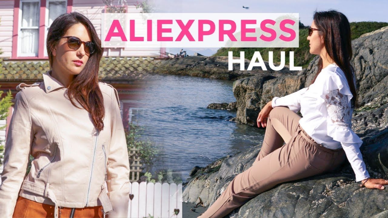 7912cd1d3a ALIEXPRESS TRENDY SPRING SUMMER CLOTHING TRY-ON HAUL 2018 - YouTube