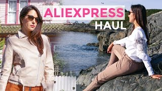 ALIEXPRESS TRENDY SPRING SUMMER CLOTHING TRY-ON HAUL 2018