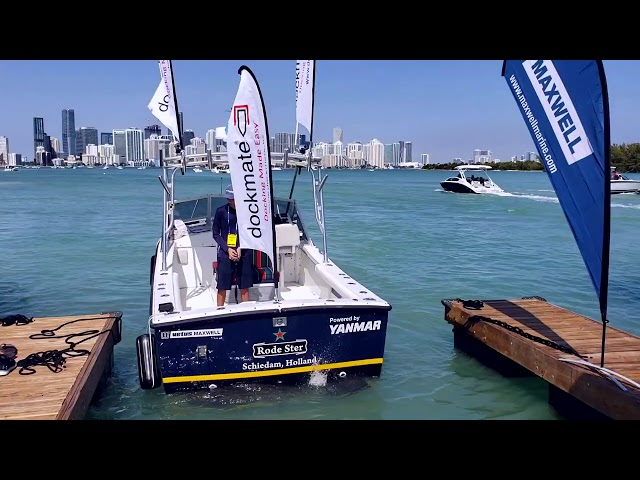 Dockmate Remote Docking System @ The 2019 Miami International Boat Show!