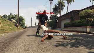 Avengers 4 leaked (GTA V)