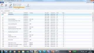Account Schedules in Microsoft Dynamics NAV