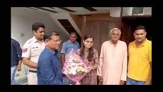 Faridabad Tigaon MLA Rajesh Nagar ने यूपीएससी एग्जाम क्लियर करने वाली सौम्या आनंद को दी बधाई