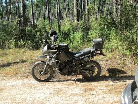 A Weekend in the Woods - KLR650