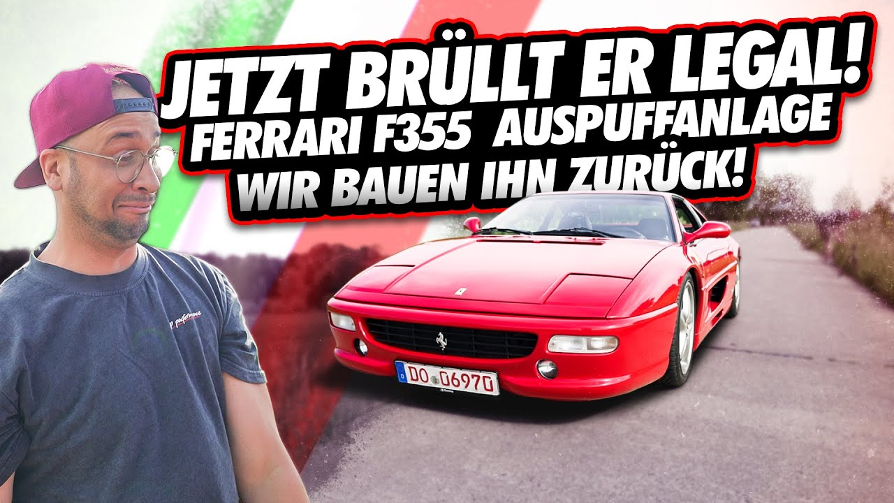 JP Performance - Jetzt brüllt er legal!!! | Ferrari F355 Sound Tuning