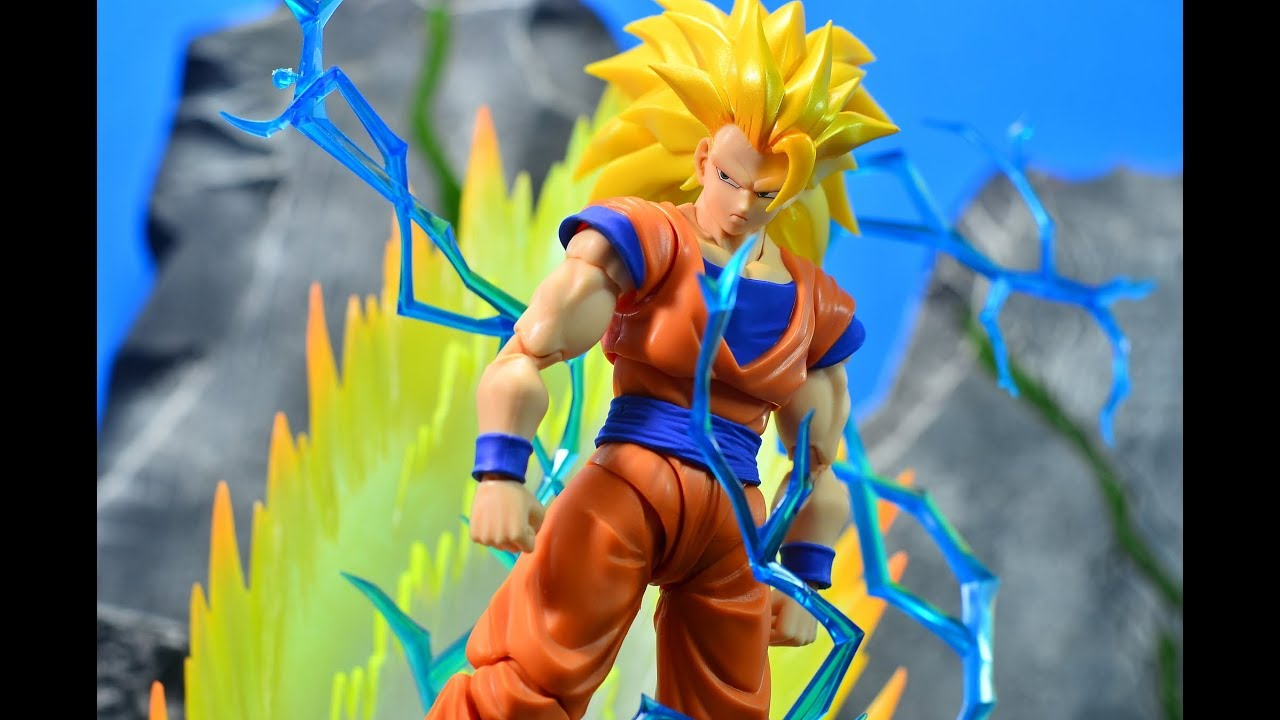 S.H.Figuarts Dragon Ball Z Super Saiyan 3 Son Goku 2.0 Action Figure No Box