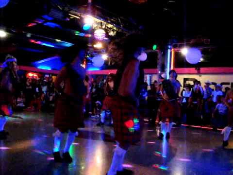 Celtic strip dance