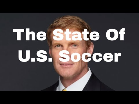 Alexi Lalas discusses the state of US Soccer