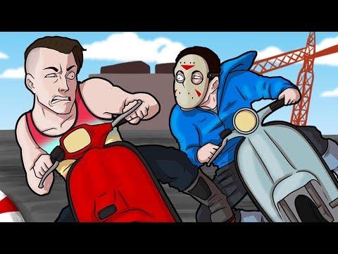 GTA 5 Fun - Insanely Close Finishes! (Grand Theft Auto V Transform Races Funny Moments and Fails)