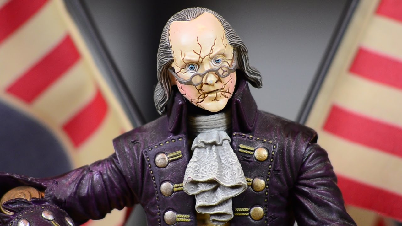 Bioshock Infinite Benjamin Franklin Motorized Patriot Figure
