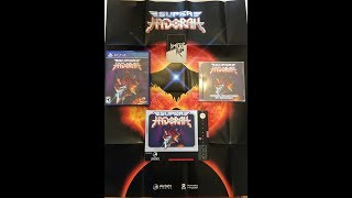Limited Run Games Super Hydorah Classic Edition Unboxing