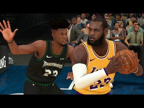 NBA 2K19 Los Angeles Lakers vs Minnesota Timberwolves Full Game – NBA 2K19 Gameplay (PS4)