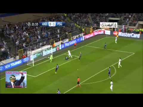 Zlatan Ibrahimovic OMG!! PSG - Anderlecht 5-0 Compilation Highlight all goals