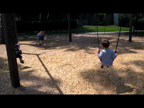 Circle of Swings - The Woods playground, Jacksonville, FL