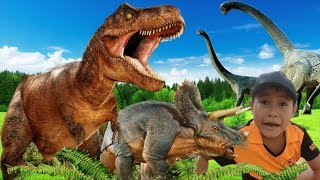Đi Tìm Khủng Long Bạo Chúa - Jurassic Park Fan Movie - T-Rex Chase