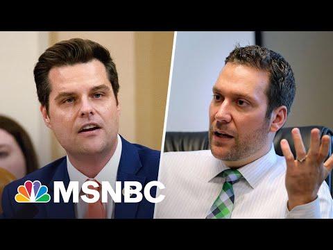Daily Beast Reports Shocking New Matt Gaetz Allegations