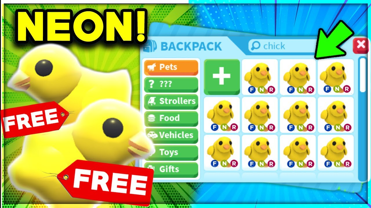 How To Get A Free Neon Pet In 5 Minutes Adopt Me 2020 Roblox Egg
