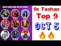 9x Tashan Top 9 This Week | October 5, 2018 | Punjabi Hits Songs With Points |
