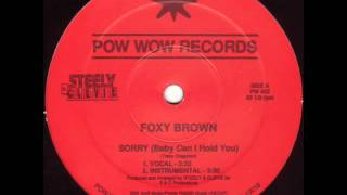 Foxy Brown   Sorry 1989