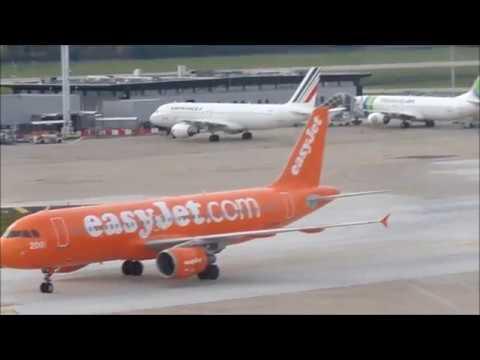 Planes Spotting at London Heathrow, Paris Orly A380, A330, A320, A319, B747, B777, B737, B787