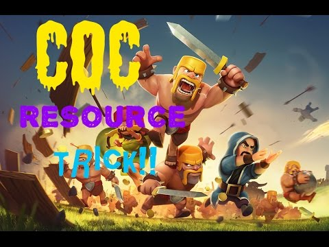 Clash of Clans mines boost trick (100% working)