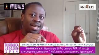 Kwibuka26/Kwibohora26: Amarorerwa inkotanyi zakoze nyuma yo gufata igihugu / Zabohoye abanyarwanda?