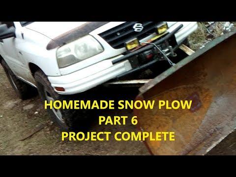 "DIY ATV 60"" Snow Plow Project Complete (Part 6)"