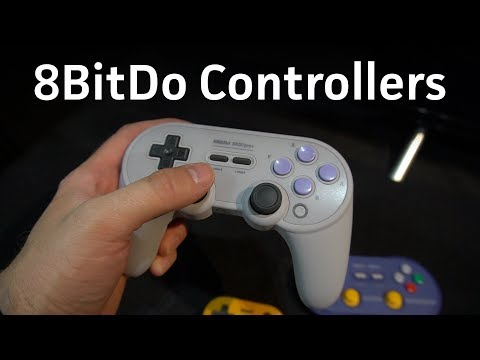 New 8BitDo controllers at E3 2018: N30 Pro 2, SN30 Pro 2, SN30 Pro+, and Zero 2