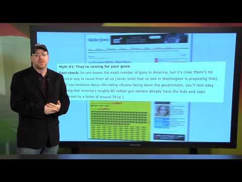 "NRA News Report: Media Misinformation   Mother Jones ""Gun Myth #1"" - February 1, 2013"
