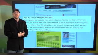 "NRA News Report: Media Misinformation | Mother Jones ""Gun Myth #1"" - February 1, 2013"