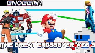 Video Game Crossover Web part 3 | Gnoggin | Anime to Metroid