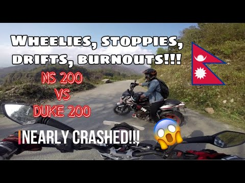 STUNTS DAY WITH MY BROTHER/ DUKE 200 and NS 200