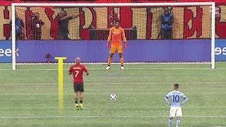 Самые НЕОБЫЧНЫЕ пенальти в футболе
