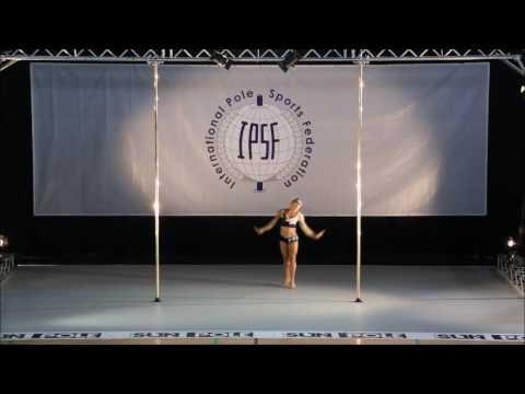 RAFAELA MONTANARO - SENIOR WOMEN - FINAL -  WORLD POLE SPORTS CHAMPIONSHIPS 2016