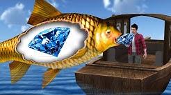 जादुई मछली और हीरे  Magical Diamond Hindi Kahaniya - Hindi Stories - Latest 3d animated hindi Comedy