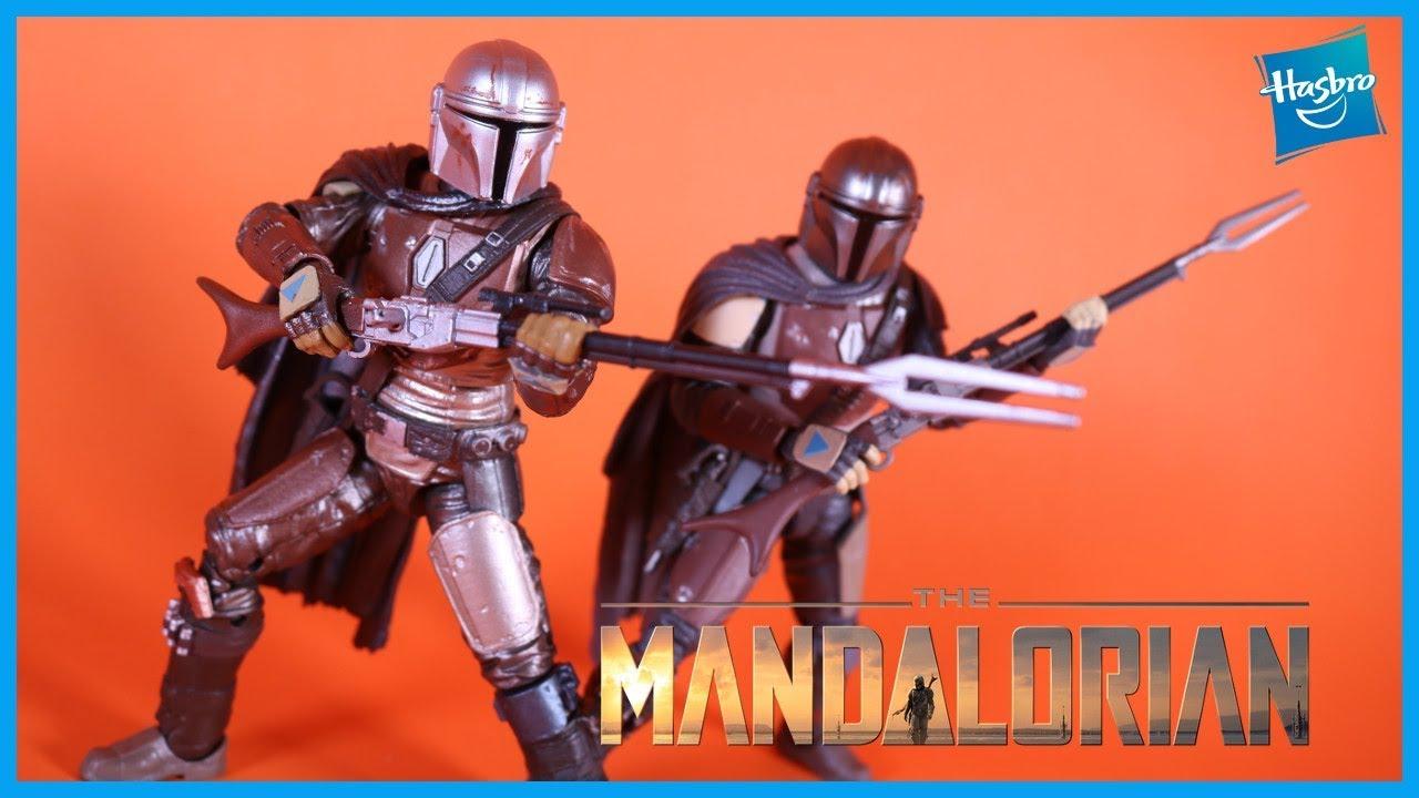 "Star Wars Black Series THE MANDALORIAN Carbonized Graphite 6"" Action Figure"