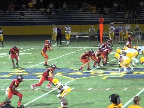 Arizona Christian University Football >> Ryan Esslinger Arizona Christian Football Highlights 2014