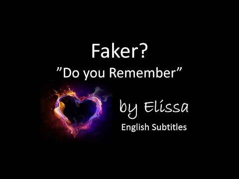 Elissa - Faker + English Lyrics