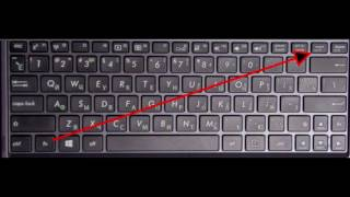 видео Что делать, если ноутбук печатает цифры, а не буквы