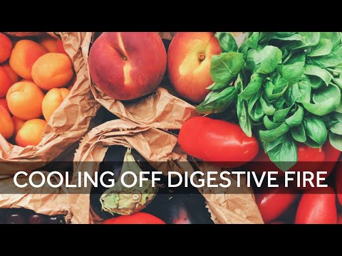 Cooling Off Your Digestive Fire - Energetics of Herbs and Food