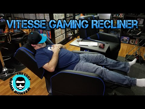Vitesse Gaming Recliner Build and Thoughts! – last Game Hunter