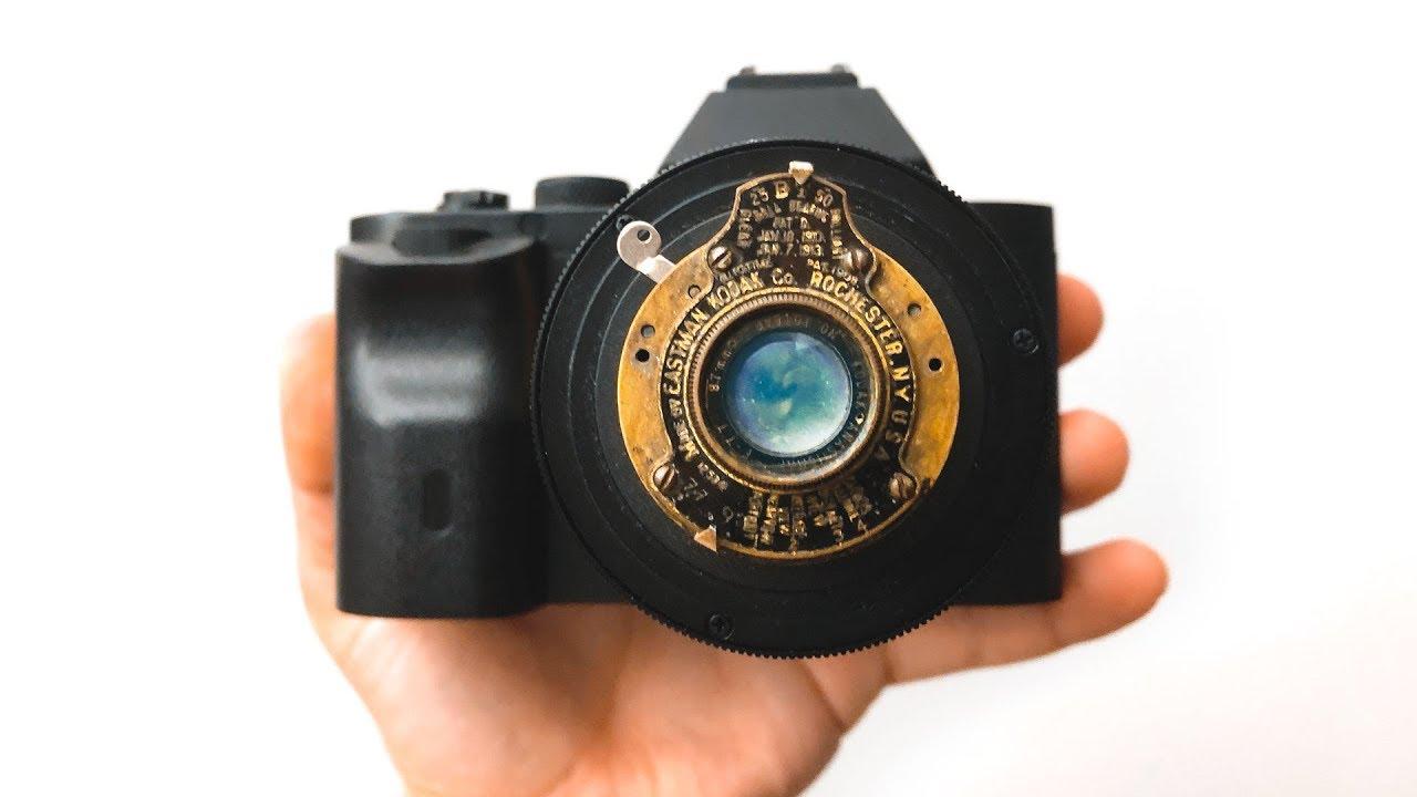 Video: Shooting video with a Vest Pocket Kodak camera lens