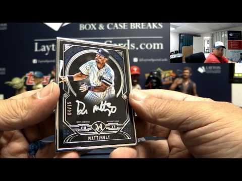 2017 Topps Museum Collection Baseball 6 Box Break #1 - Random Teams