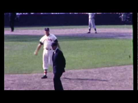 Ted Williams at Fenway Park in 1956 and 1959