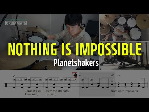 Nothing Is Imposible - Planetshakers | Drum Cover | Transcription
