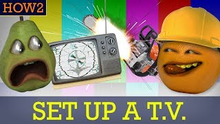 HOW2: How to Set Up a TV!