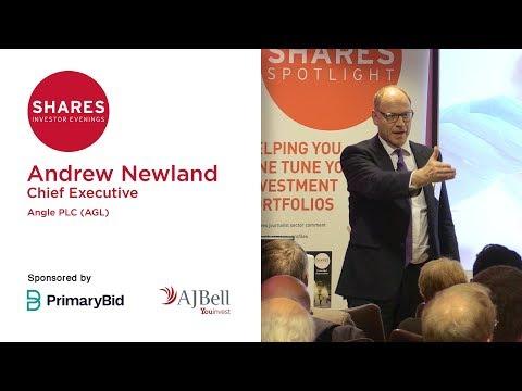 Andrew Newland, Chief Executive of ANGLE (AGL)